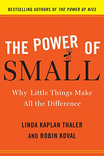 9780385526555: The Power of Small: Why Little Things Make All the Difference