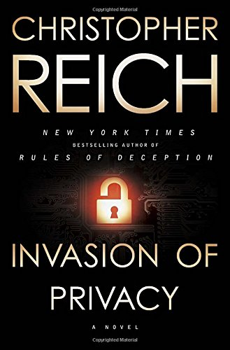 [signed] Invasion of Privacy: A Novel 9780385531573 One woman's quest to discover the truth behind her husband's death will pit her against a new generation of cutting-edge surveillance technology and the most dangerous conspiracy in America—Invasion of Privacy is the riveting, new standalone suspense novel from New York Times bestselling author Christopher Reich.      On a remote, dusty road forty miles outside of Austin, Texas, FBI agent Joe Grant and a confidential informant are killed in a deadly shootout. Left to pick up the pieces is Mary Grant, Joe's young wife and mother of their two daughters. The official report places blame for the deaths on Joe's shoulders . . . but the story just doesn't add up and Mary has too many troubling questions that need answers. How did Joe's final voice mail—containing a cryptic warning for Mary, recorded moments before the fatal shooting—disappear without a trace from her phone?         Stonewalled by the FBI, Mary will be drawn into a deadly conspiracy that puts her in the crosshairs of the richest and most powerful men in America . . . and the newest and most terrifying surveillance system known to man.      New York Times bestselling author Christopher Reich is the master of crafting thrillers of the highest caliber, with nonstop action and nail-biting suspense. Invasion of Privacy is his richest, most relevant novel to date and will have readers hooked from the first page to the last. Your privacy is for sale.