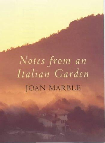 9780385600774: Notes from an Italian Garden