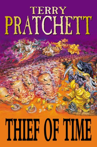 THIEF OF TIME. (SIGNED): PRATCHETT, Terry.