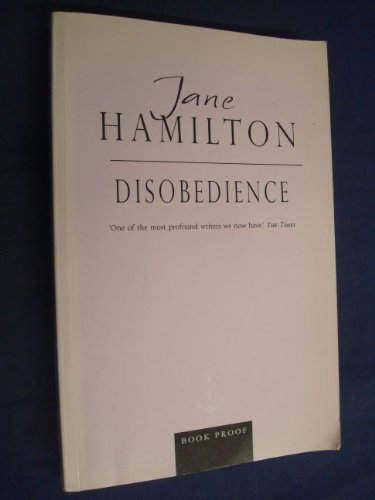 9780385601900: DISOBEDIENCE.