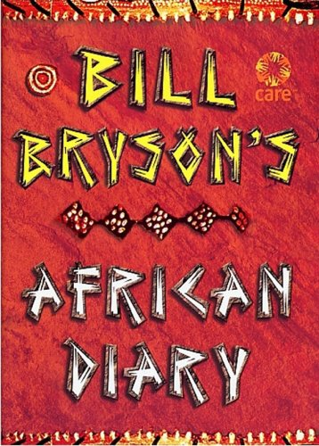 9780385605144: Bill Bryson African Diary