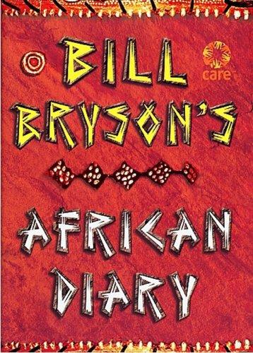 9780385605144: Bill Bryson African Diary