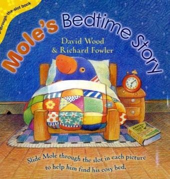 9780385610483: Mole's Bedtime Story (Pop-Through-the-Slot series)
