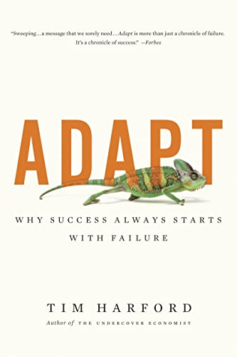 9780385670265: Adapt: Why Success Always Starts with Failure