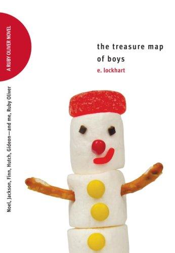 9780385734264: The Treasure Map of Boys: Noel, Jackson, Finn, Hutch, Gideon--and Me, Ruby Oliver (Ruby Oliver Quartet)
