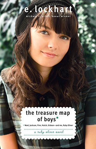 9780385734271: The Treasure Map of Boys: Noel, Jackson, Finn, Hutch, Gideon--and Me, Ruby Oliver (Ruby Oliver Quartet)