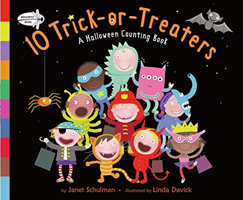 9780385736145: 10 Trick-or-Treaters: A Halloween Counting Book
