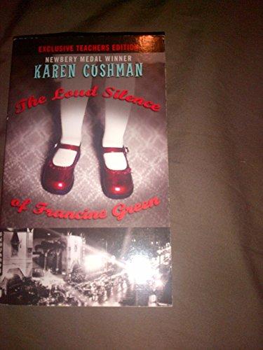 9780385737203: The Loud Silence of Francine Green: Teachers Edition