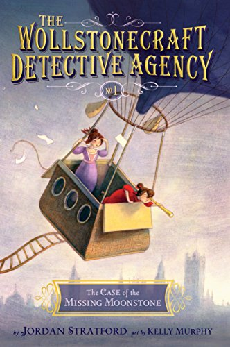 9780385754408: The Case of the Missing Moonstone (The Wollstonecraft Detective Agency, Book 1)