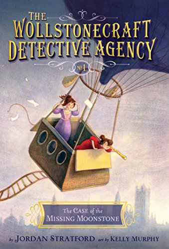 9780385754439: The Case of the Missing Moonstone (The Wollstonecraft Detective Agency, Book 1)