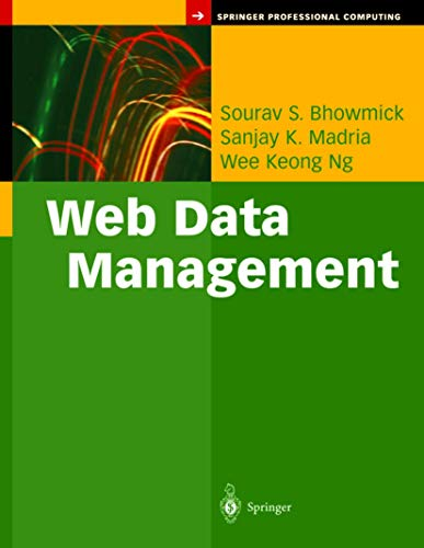 9780387001753: Web Data Management: A Warehouse Approach (Springer Professional Computing)