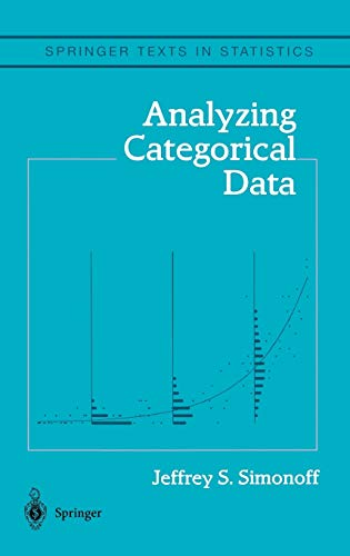 9780387007496: Analyzing Categorical Data (Springer Texts in Statistics)