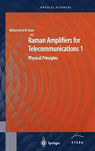 Raman Amplifiers for Telecommunications: v. 1: Physical Principles (Hardback)