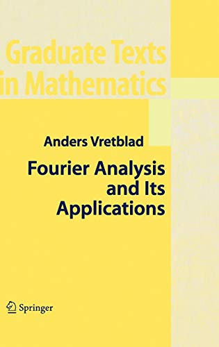 9780387008363: Fourier Analysis and Its Applications (Graduate Texts in Mathematics)