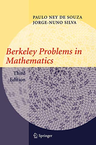 9780387008929: Berkeley Problems in Mathematics (Problem Books in Mathematics)