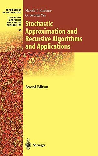 9780387008943: Stochastic Approximation and Recursive Algorithms and Applications (Stochastic Modelling and Applied Probability) (v. 35)