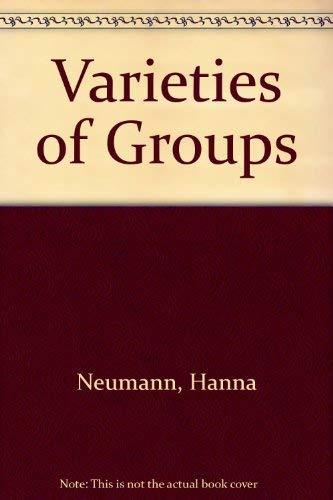 9780387037790: Varieties of Groups (Ergebnisse der Mathematik und ihrer Grenzgebiete Band 37)