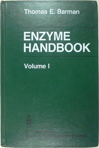 Enzyme Handbook, Vol. 1: Barman, Thomas E.