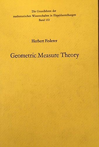 9780387045054: Geometric Measure Theory