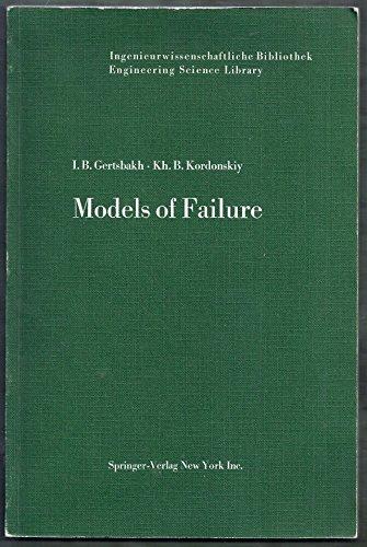 9780387045696: Models of Failure