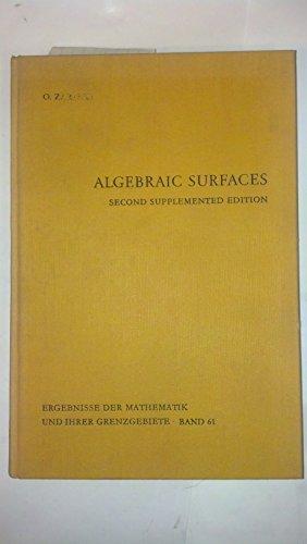 9780387053356: Algebraic surfaces (Ergebnisse der Mathematik und ihrer Grenzgebiete)