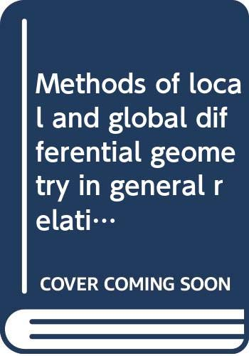 Methods of local and global differential geometry