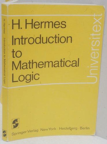 9780387058191: Introduction to mathematical logic (Universitext)