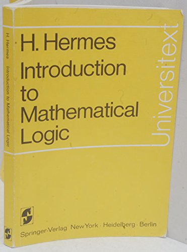 9780387058191: Introduction to Mathematical Logic