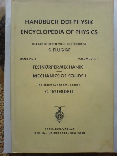 9780387058733: Handbuch Der Physik/Encyclopedia of Physics (Pt A1)
