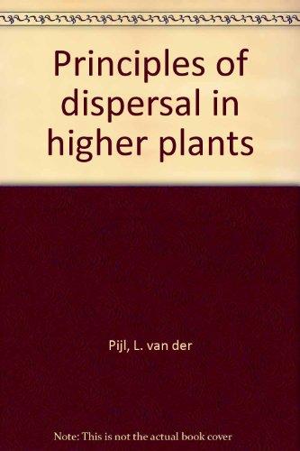 Principles of Dispersal in Higher Plants: van der Pijl,