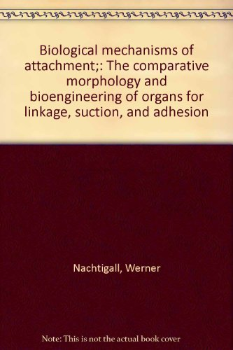 Biological Mechanisms of Attachment: The Comparative Morphology and Bioengineering of Organs for ...