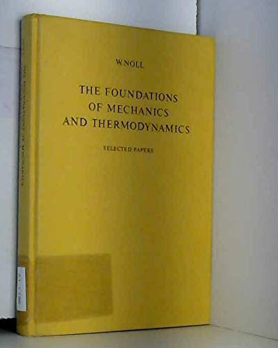 9780387066462: Foundations of Mechanics and Thermodynamics: Selected Papers