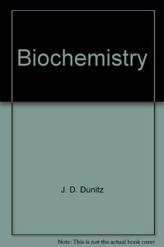 Structure and Bonding: Biochemistry, Vol. 23: J. D. Dunitz
