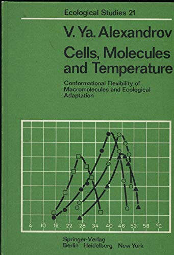 9780387080260: Cells, molecules, and temperature: Conformational flexibility of macromolecules and ecological adaptation (Ecological studies)