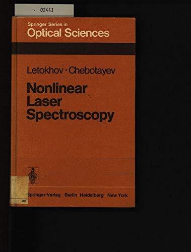 Nonlinear Laser Spectroscopy (Springer Optical Sciences Ser,: Letokhov, V. S.,