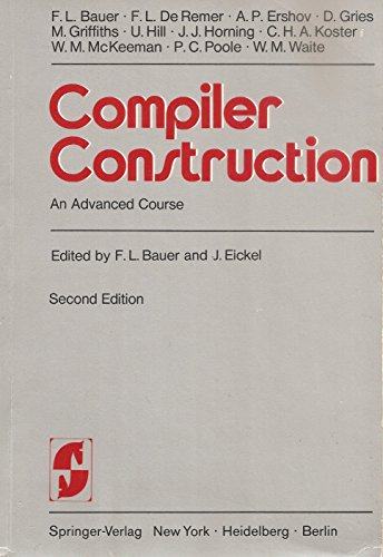 9780387080468: Compiler Construction: An Advanced Course