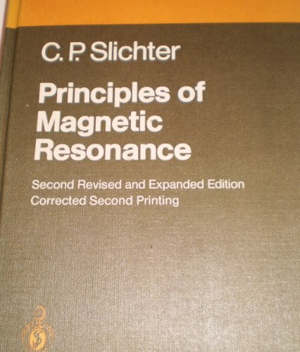 9780387084763: Principles of magnetic resonance (Springer series in solid-state sciences)