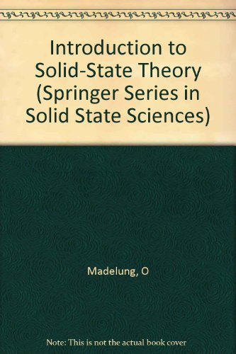 Introduction to Solid-State Theory: O. Madelung