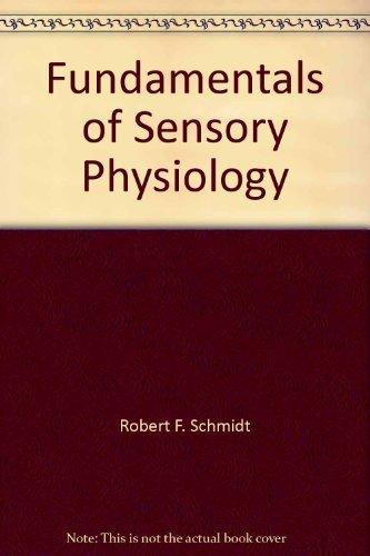 9780387088013: Fundamentals of sensory physiology