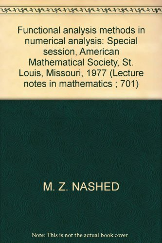 Numerical Method Mathematical Analysis - AbeBooks