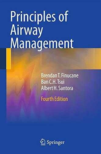 Principles of Airway Management (Lecture notes in: Jantzen, Jens Carsten,