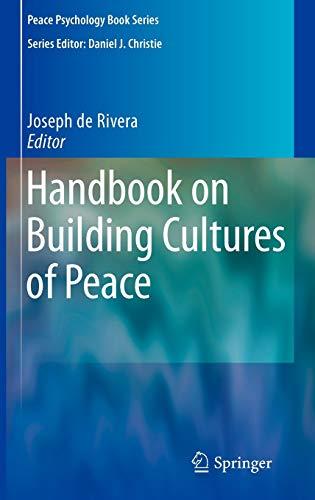 Handbook on Building Cultures of Peace: Joseph de Rivera