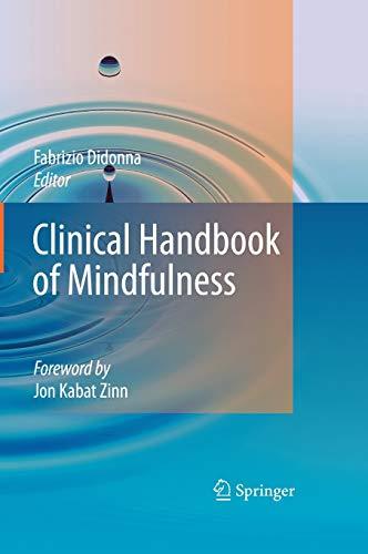 9780387095929: Clinical Handbook of Mindfulness