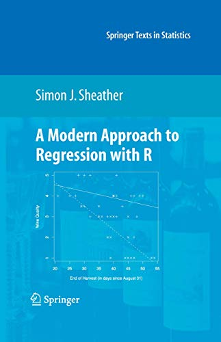 9780387096070: A Modern Approach to Regression with R (Springer Texts in Statistics)