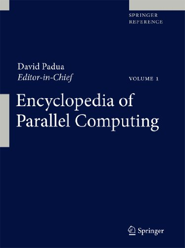 Encyclopedia of Parallel Computing. 4 Bände: David Padua