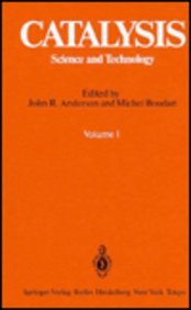 9780387103532: Catalysis: Science and Technology. Volume 1