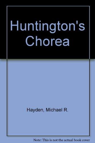 9780387105888: Huntington's Chorea