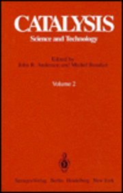 Catalysis: Science and Technology. Volume 2