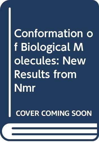 Conformation of Biological Molecules: New Results from: Govil, G.